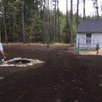 Power Raking, Loam Spreading, and Hydro-Seeding. Raymond, NH.