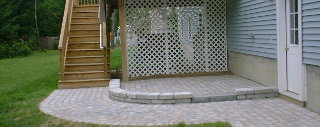 Walkway and Patio in Newmarket, NH