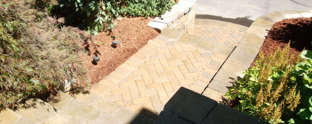 AFTER - Retaining Wall and Walkway Repair